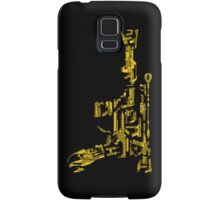 No Match for a Good Blaster - 26 Classic Sci Fi guns Samsung Galaxy Case/Skin
