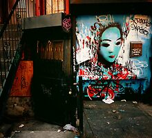Urban Fragments - Lower East Side - New York City by Vivienne Gucwa
