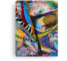 My first trip (Not in a Vehicle) Canvas Print