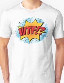 """Comic Book Blast """"WTF!?"""" T-Shirt"""