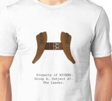 Property of WICKED - Subject A7 Unisex T-Shirt