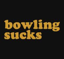 Bowling Sucks Kids Clothes