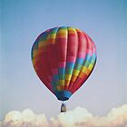 Hot Air Balloon - iPhone case by Jan Bickerton