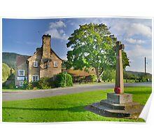 Yorkshire: The Blue Bell Inn, Ingleby Cross Poster