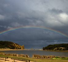 Aireys Inlet Rainbow by Russell Wiltshire