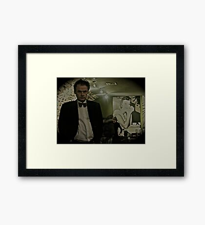 """""""Besame Mucho"""" by & about Brown Sugar.Tribute to Dean Martin. Favorites: 6 Views: 185 . Framed Print"""