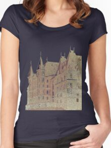 Stadium H.S. – The Two Towers Women's Fitted Scoop T-Shirt