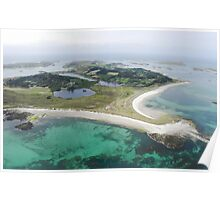 Aerial Islands of Scilly Poster