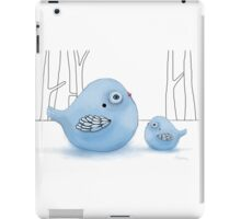 Blue Birds of Happiness iPad Case/Skin