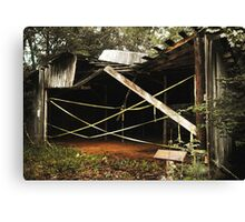 Uwharrie Equipment Shed 2 Canvas Print