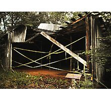Uwharrie Equipment Shed 2 Photographic Print