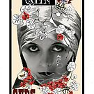 Dada Tarot- Queen of Cups by Peter Simpson