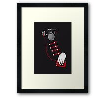 Long live the king! Framed Print