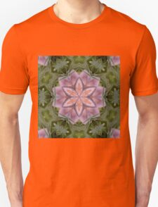 Kaleidoscope of a beautiful fungus Unisex T-Shirt