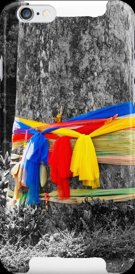 Buddist Prayer Tree by Tim Topping