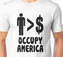 People Over Profits Occupy Protests Unisex T-Shirt