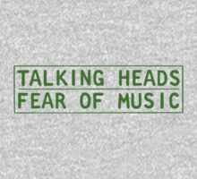 Talking Heads - Fear Of Music Kids Clothes