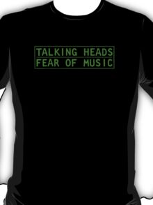 Talking Heads - Fear Of Music T-Shirt