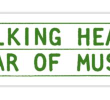 Talking Heads - Fear Of Music Sticker