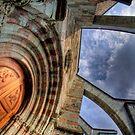 Doorway of Sacra di San Michele by Guy Carpenter