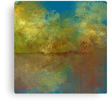 Beside the Lake Impressionism Canvas Print