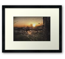Outback Living Framed Print