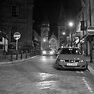 Omagh at night by MiskellyTrevor