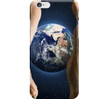 We Hold Earth's Future in Our Hands iPhone Case/Skin