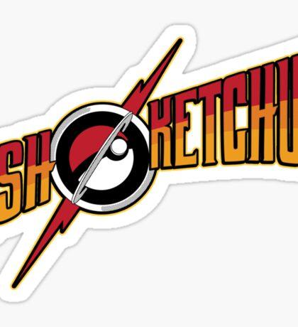 Ash! Sticker