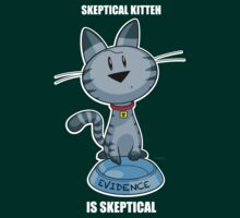 Skeptical Kitteh is Skeptical by drawingbusiness