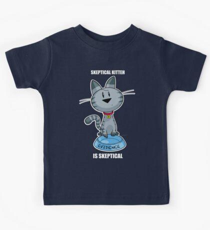 Skeptical Kitteh is Skeptical Kids Tee