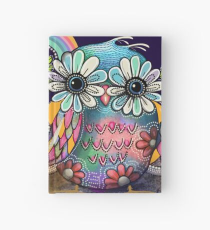 Aloha Owls Hardcover Journal