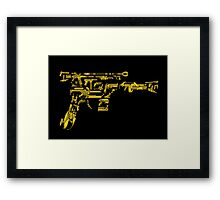 No Match for a Good Blaster - 26 Classic Sci-Fi Guns Framed Print
