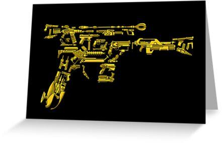 No Match for a Good Blaster - 26 Classic Sci-Fi Guns by ianleino