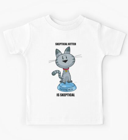 Skeptical Kitteh is Skeptical Kids Clothes