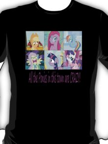 Friendship is Magic: Crazy T-Shirt! T-Shirt