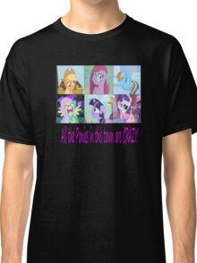 Friendship is Magic: Crazy T-Shirt! Classic T-Shirt
