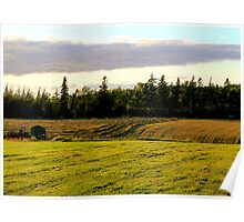 New Mown Hay on Prince Edward Island Poster