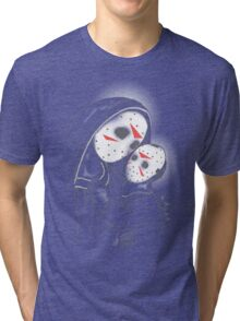 Our Blessed Voorhees Tri-blend T-Shirt