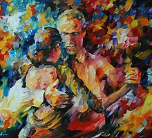 TANGO OF LOVE - LEONID AFREMOV by Leonid  Afremov