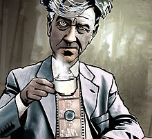 "David Lynch ""Strange Brew"" by Sam Kirk"