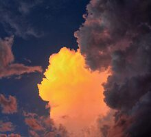 Storm Clouds 2 by Carolyn  Fletcher