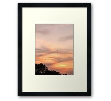 Amazing sky Framed Print