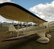 Waco Biplane @ Festival Of Flight 2011 by muz2142