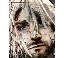 "Kurt Cobain ""Verse Chorus Hearse"" Photographic Print"