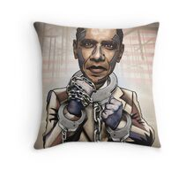 "Barack Obama, ""Stimulate This!"" Throw Pillow"