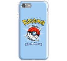 Portalmon iPhone Case/Skin