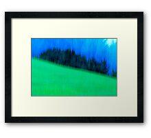 Hillside Framed Print