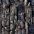 Burnt look Iphone case by Javimage