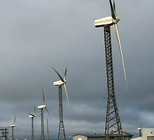 Tararua wind farm by donnz